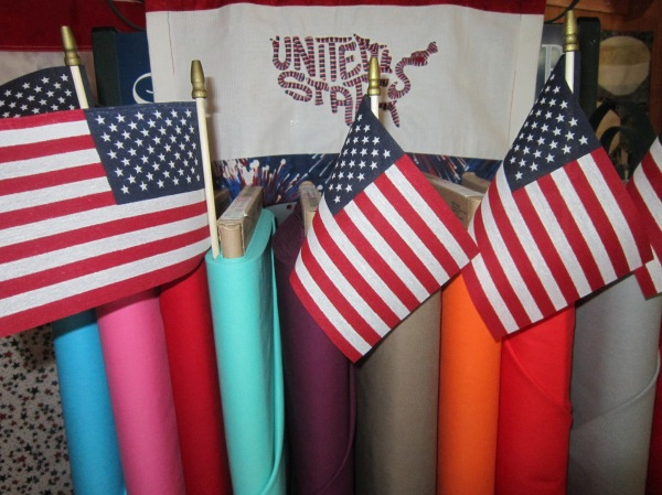 "Fabrics ""Born in the USA"""