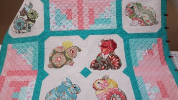 Barb's Bunny Quilt