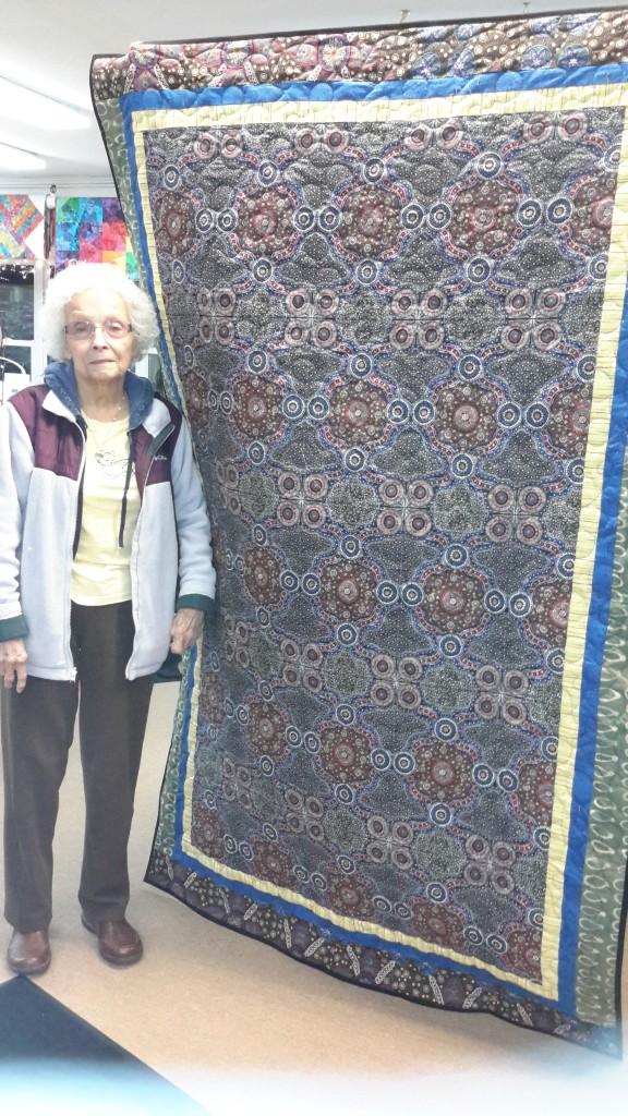 Whole Cloth Quilting:  Pat's Australian Treasure
