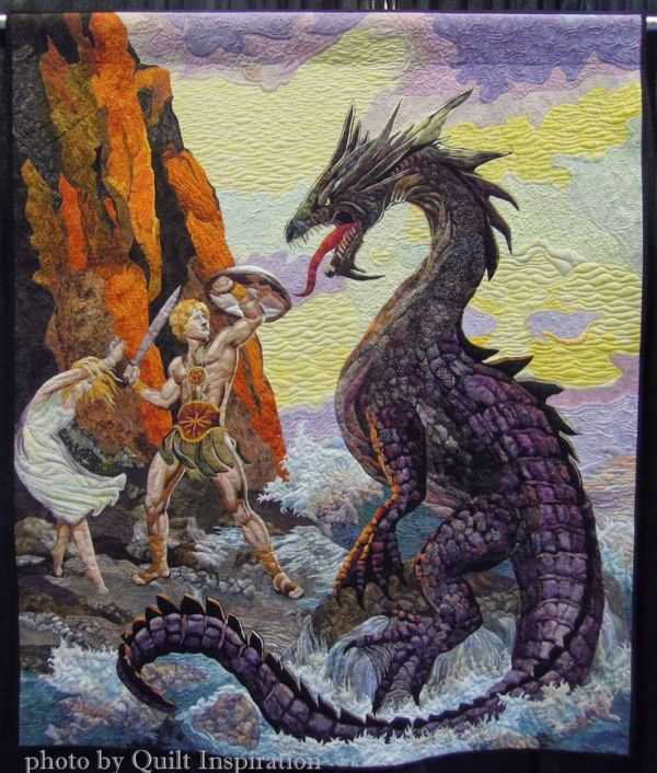 Perseus Saving Adronema by Marilyn Bedford