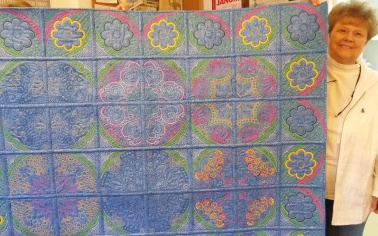 Wish the backs of MY quilts looked this good.